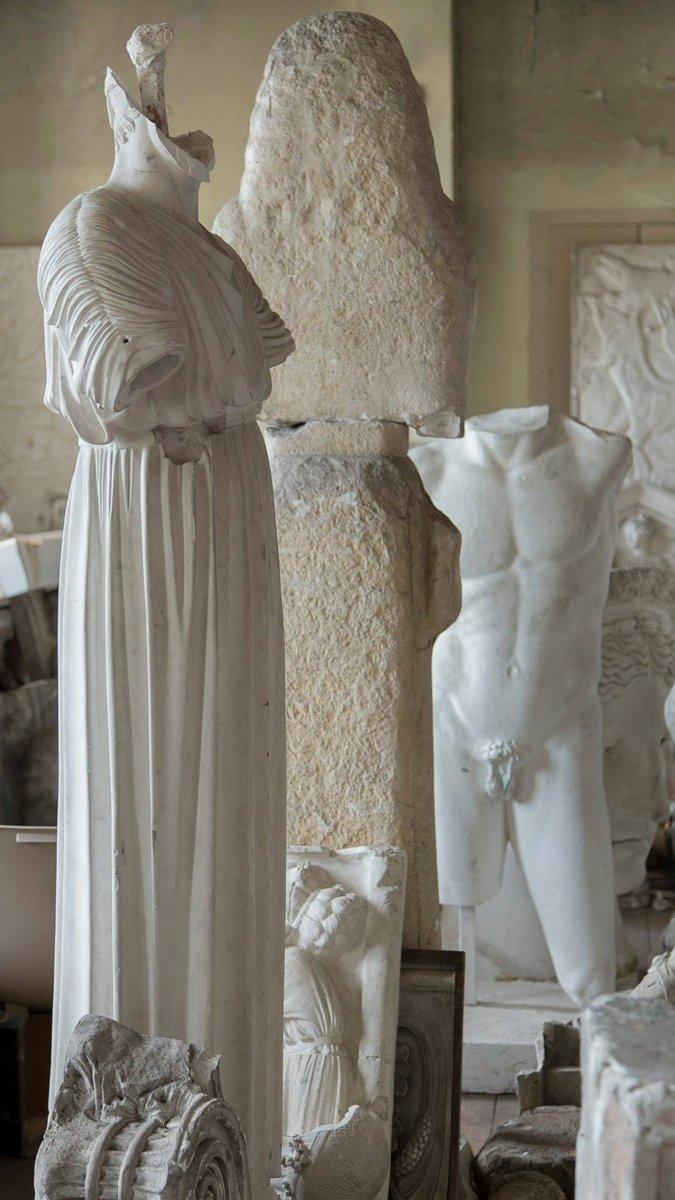 Des #plâtres de l'ENSA #Dijon au Musée-Parc #Buffon  Infos et photos :  https:// goo.gl/Y0A4hF    pic.twitter.com/QKCzb4cWnO