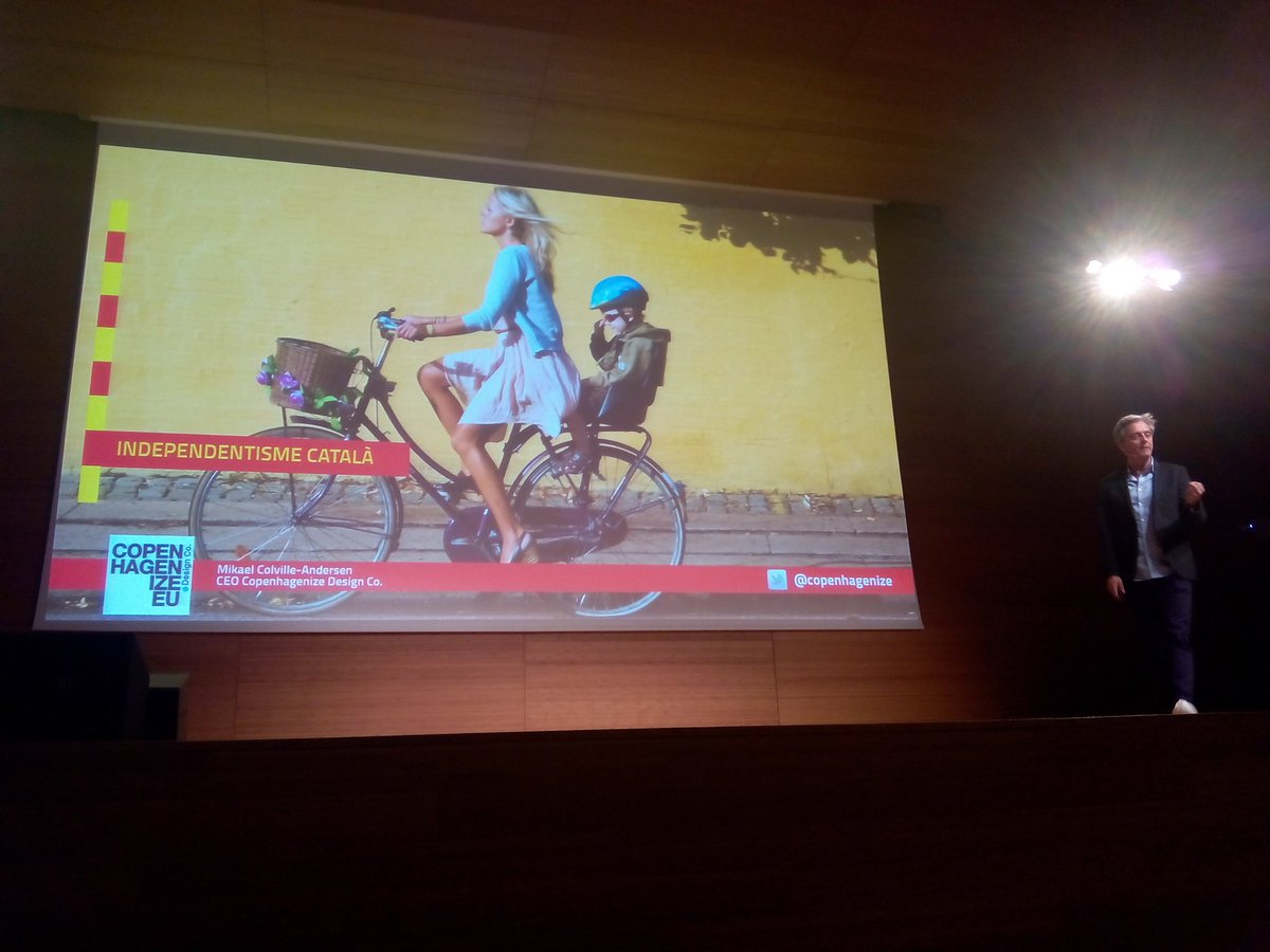 Mikael Colville @copenhagenize says to #catalunya stop talking &amp; act @congresbici #reus @copenhagenizers<br>http://pic.twitter.com/GofrFceVcf