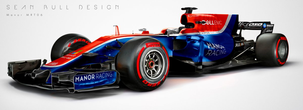 Sean Bull Design On Twitter How Could The Manor MRT06 Have Looked