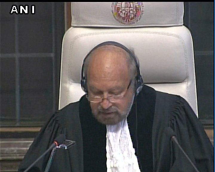 Both India and Pakistan agree that Kulbhushan Jadhav is an Indian citizen: ICJ Judge Ronny Abraham