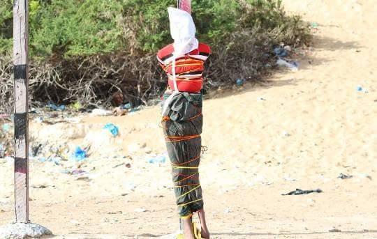 Al Shabab car bomb driver, Abdikadir Hassan Abdi, 40 was executed by firing squad in Mogadishu today