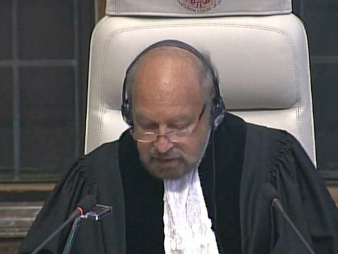 The circumstances of Kulbhushan Jadhav's arrest remain disputed, says ICJ