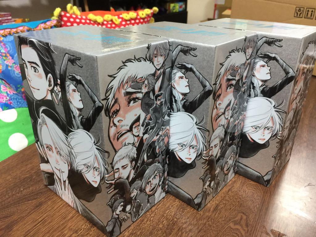 Animateの全巻購入特典である私が描いた収納BOXのサンプルが届いた。3つも。