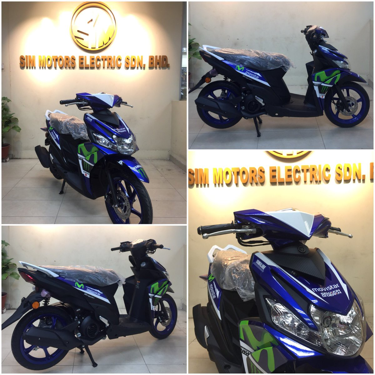 New #Yamaha #Solariz125 #Movistar #limitedEdition Jz arrived,Visit us today for more details or call 017-4708895.<br>http://pic.twitter.com/r2CycanJ4L