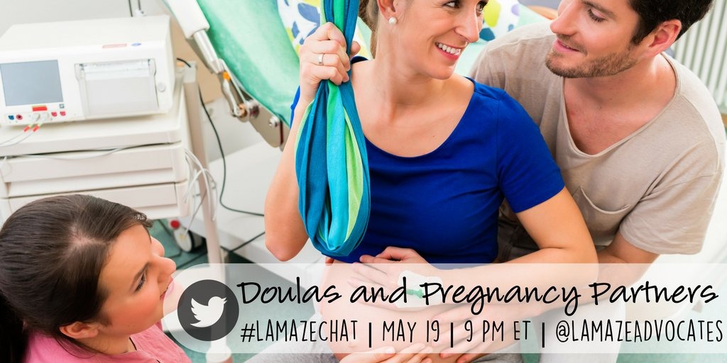Tonight is the night! Join us at 9 Eastern on Twitter to discuss #doulas and pregnancy partners! #LamazeChat https://t.co/pqXCzblVSo