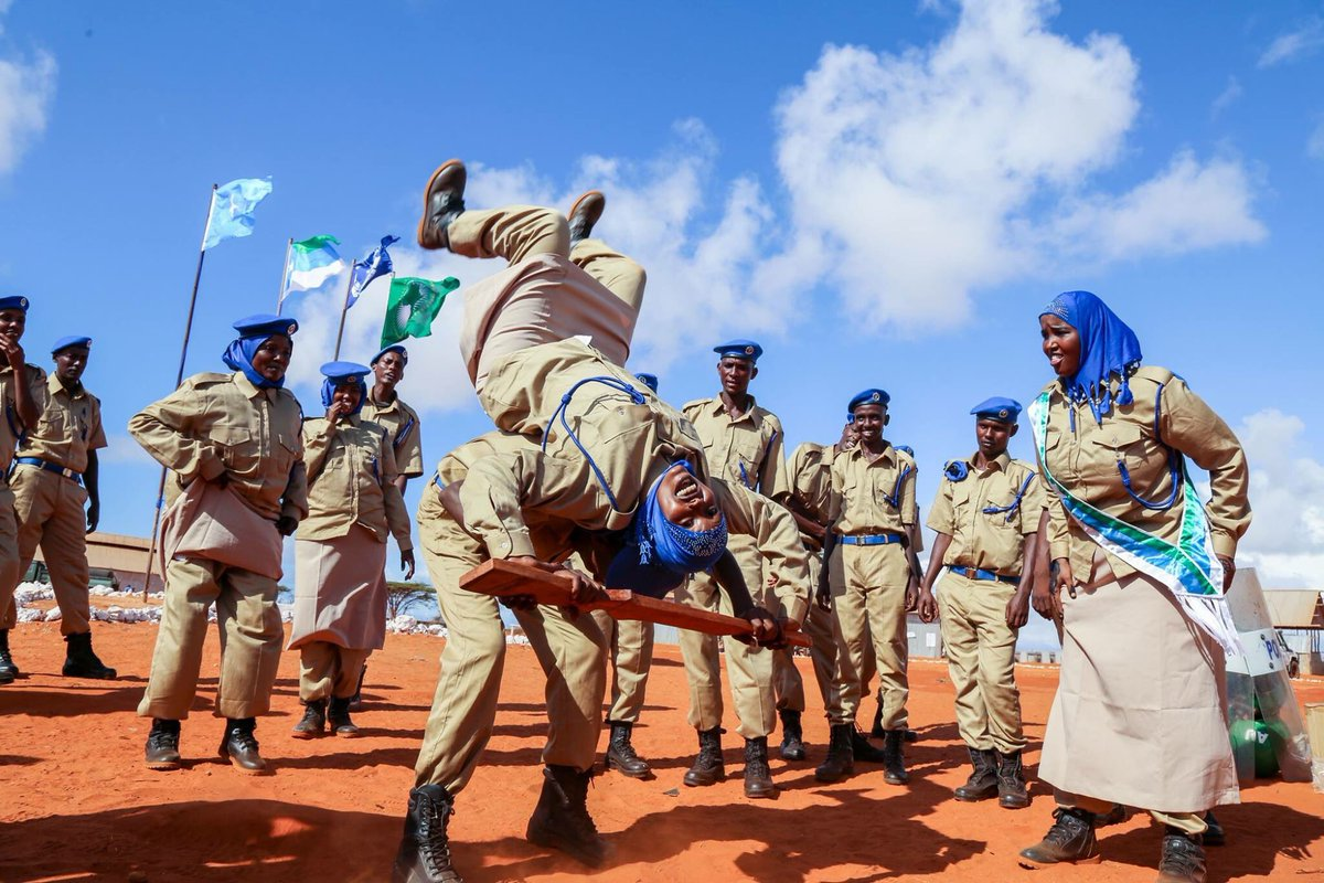 .@amisomsomalia has trained 1,200 fresh recruits in the different regions of South and Central of Somalia.