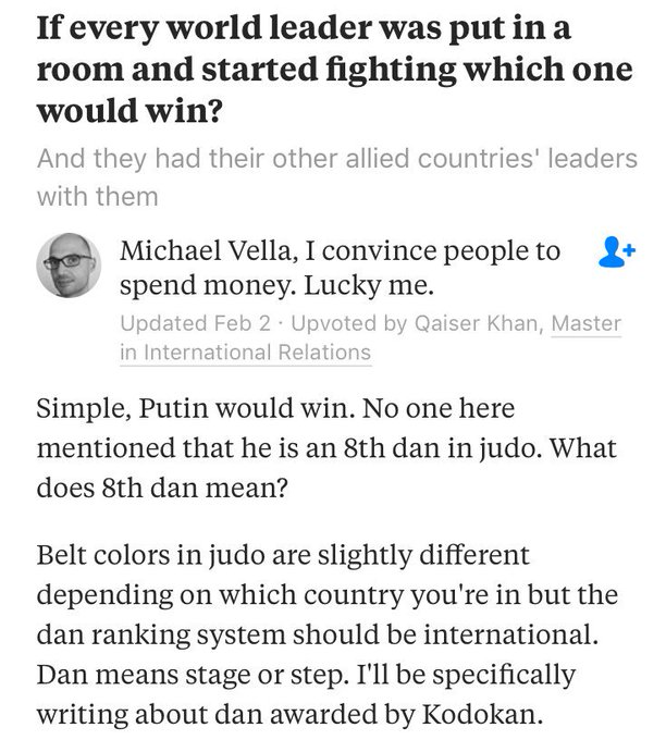 Boy I hope Trump doesn't read this Quora thread