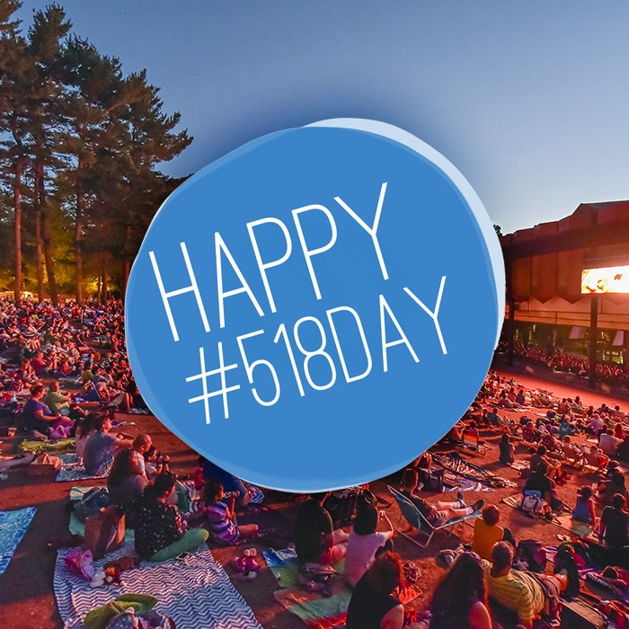 Happy #518Day - Celebrating the cultural vibrancy of our community! How appropriate as we raise the curtain on our Live Nation season! :) https://t.co/84Zdd1wUj6
