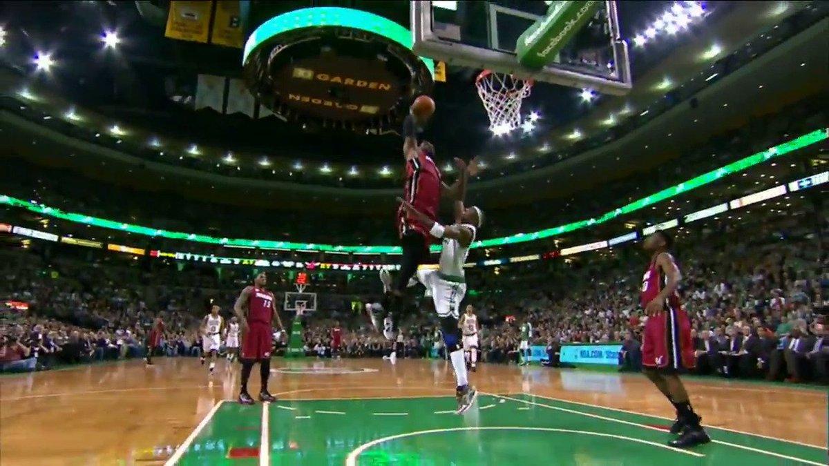 Throwing it back to this monster @KingJames SLAM in Boston! #NBATBT #ThrowdownThursday