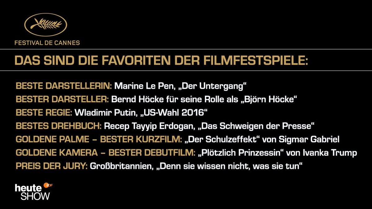 """Preis für Special Effects: """"Frisur"""" von..."""