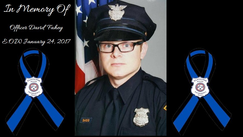 .@CLEpolice share somber video honoring Officer Fahey https://t.co/Q6pGF41QOy #NeverForget #PoliceWeek2017