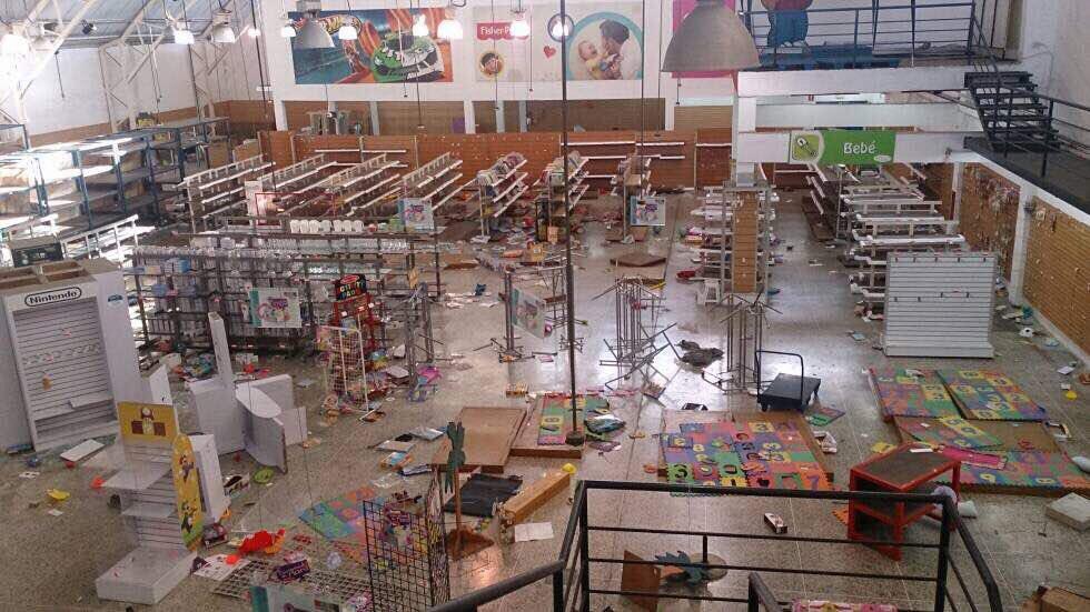 #18May 10:25am Asi quedó General Import Los Teques https://t.co/eD4lsq33a0 - @maybeligo