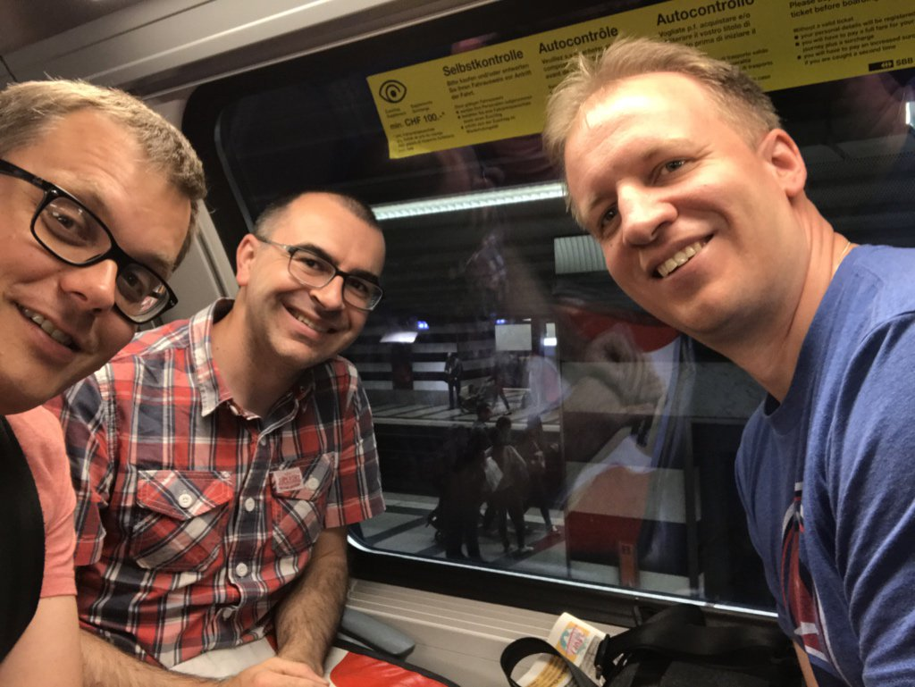 On our way to Aarau #GeobeerCH @mannes_j @rastrau https://t.co/PgwkZ9famm