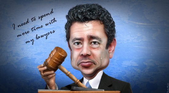 Rep Jason Chaffetz is resigning so he can spend more time with his lawyers.