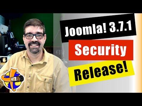 Live Bulletin - ##Joomla3.7.1 Released Today! - Plus a tutorial on how to Update #Joomla.  https:// goo.gl/Ja7ri2     #tutorials #webdesign<br>http://pic.twitter.com/nlv1pEYztk