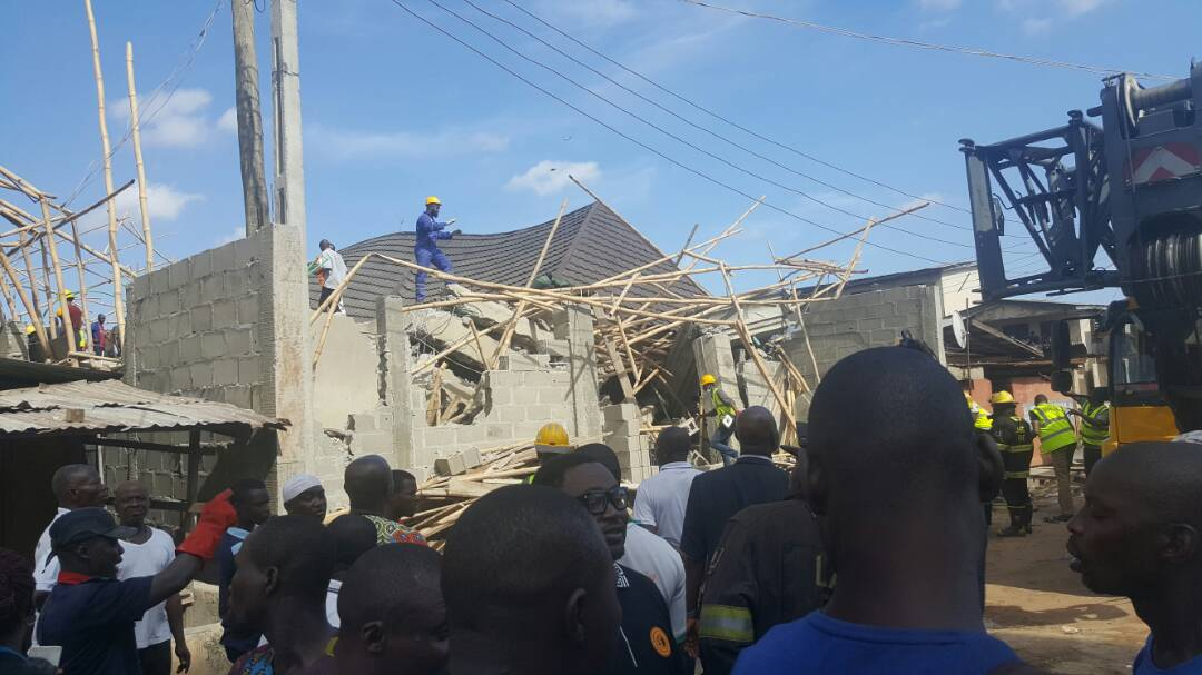 Lagos Govt provided reasons behind the collapse of 3-storey building in Lagos, saying that the developers ignored STOP WORK order & continued work