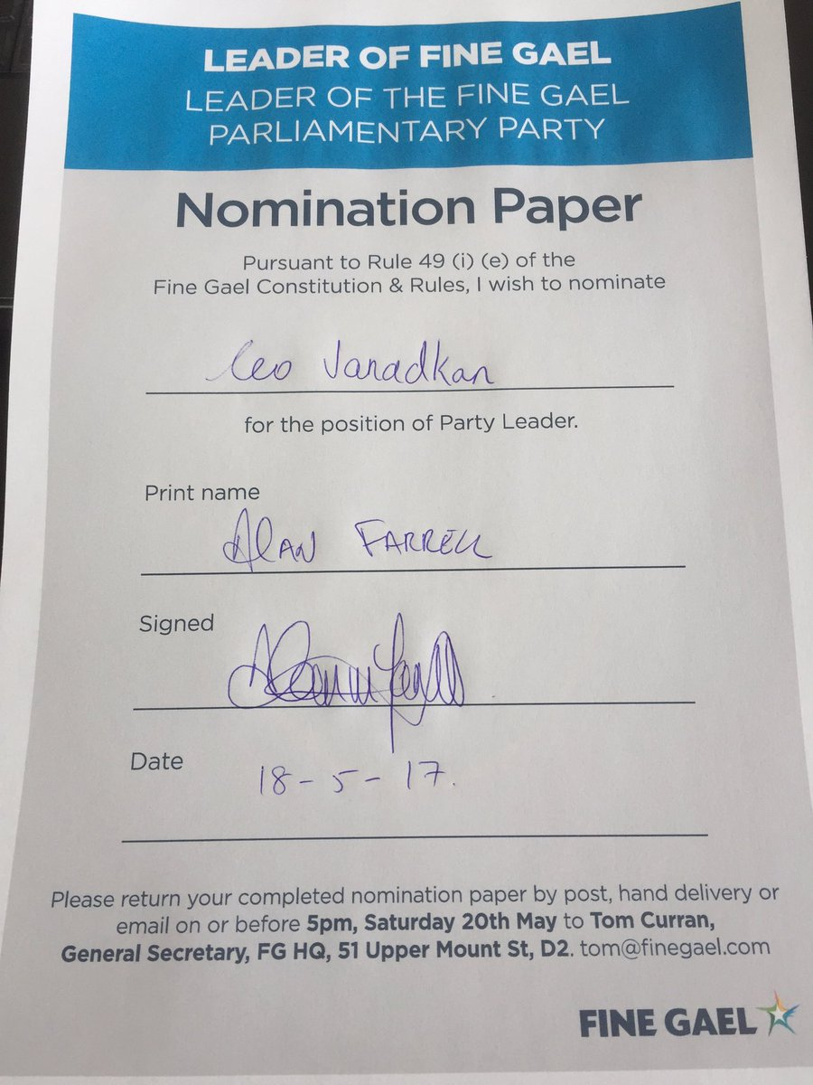 Delighted to support @campaignforleo on his #FGleadership bid. #CampaignForLeo