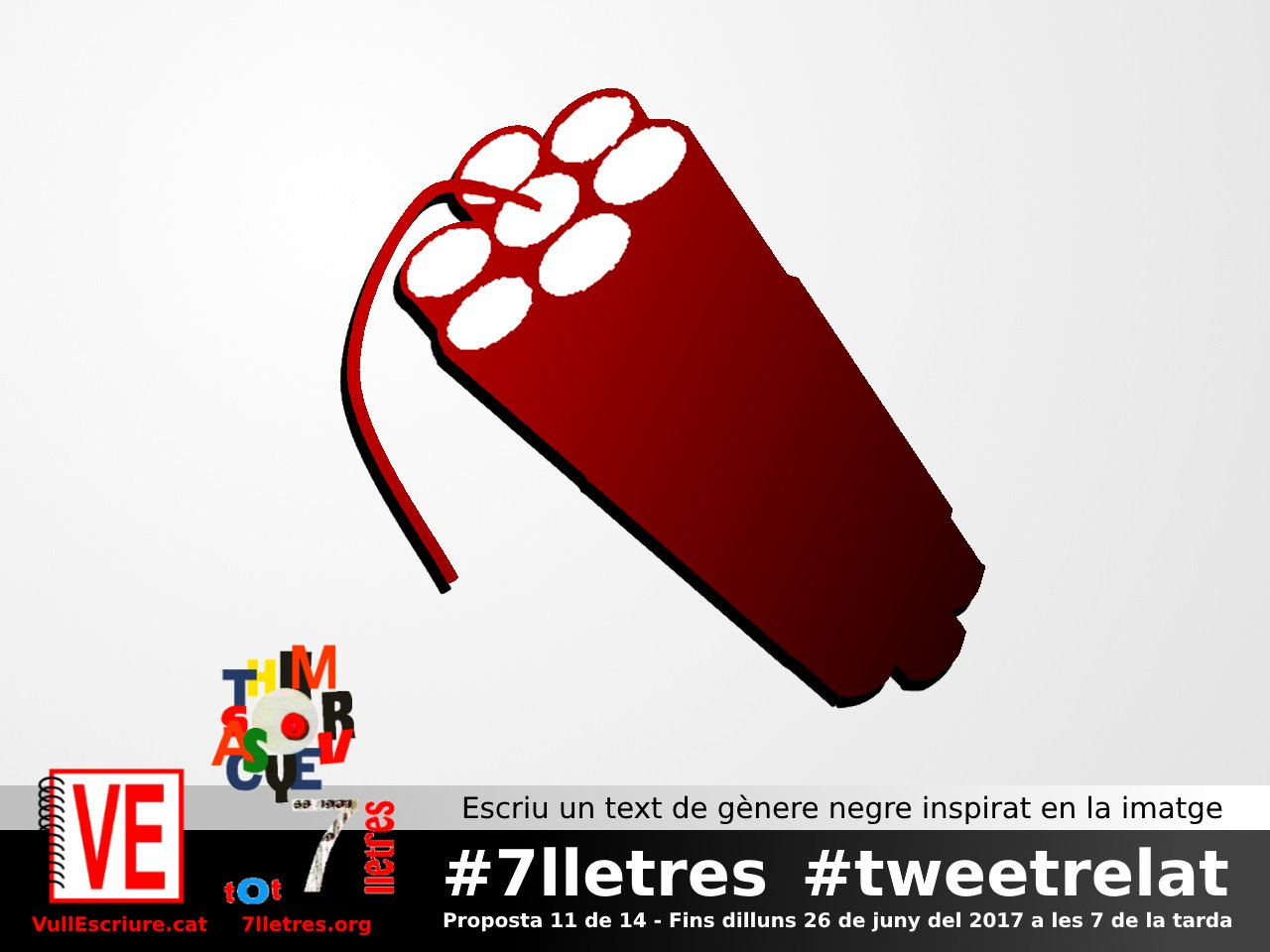 Thumbnail for VullEscriure - Marató #7lletres #tweetrelat (6a setmana)