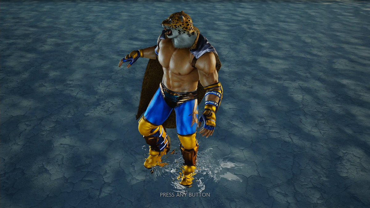 tekken king true face