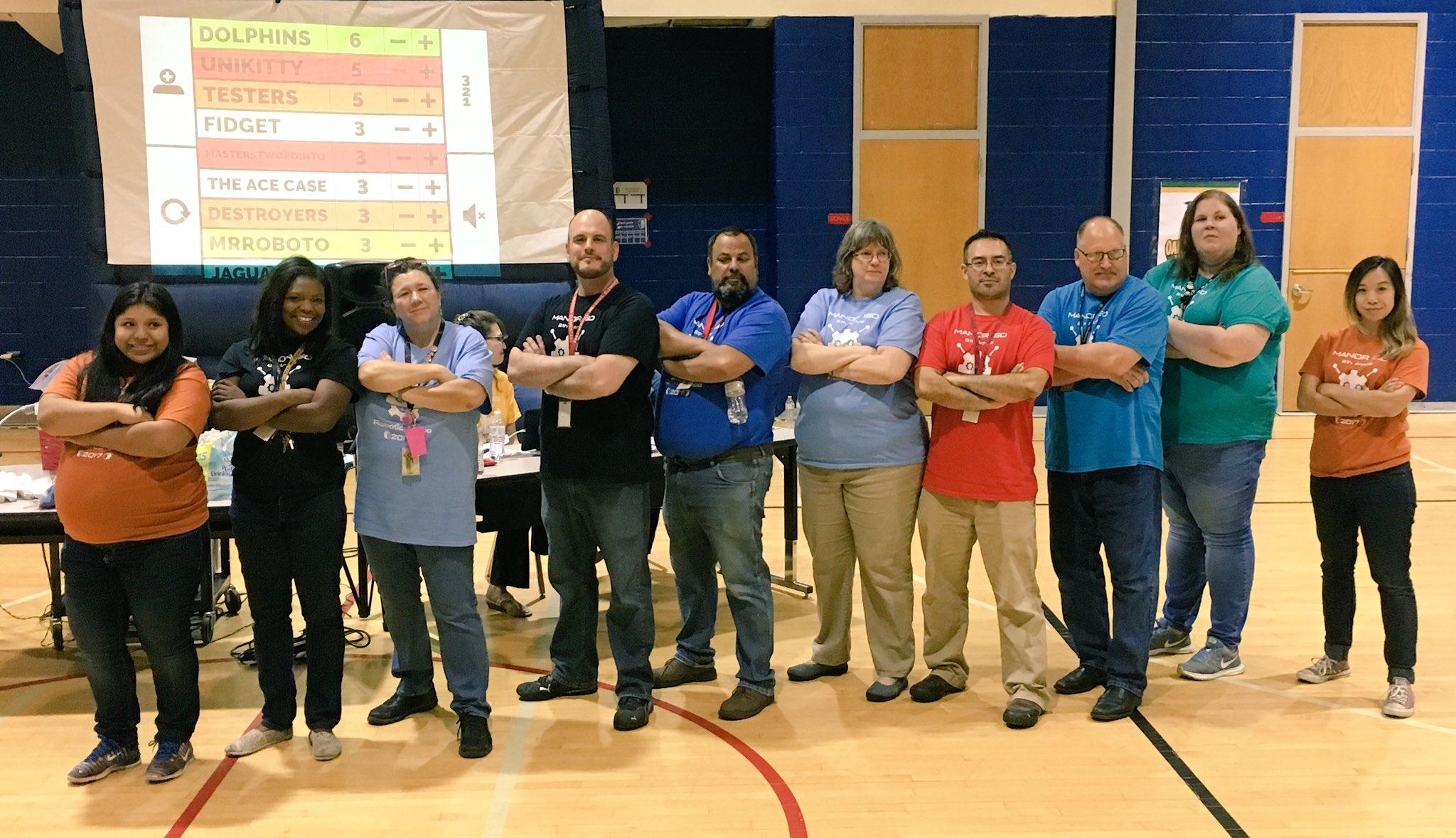 Thank you Robotics Coaches! #ManorISD https://t.co/0W7fxR5u3m