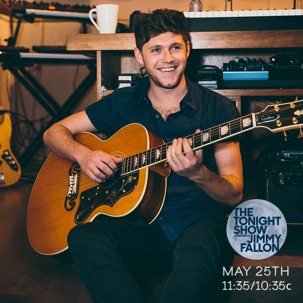 Looking forward to going on  @FallonTonight 25th May ! make sure you watch ! https://t.co/q13LydVjgl