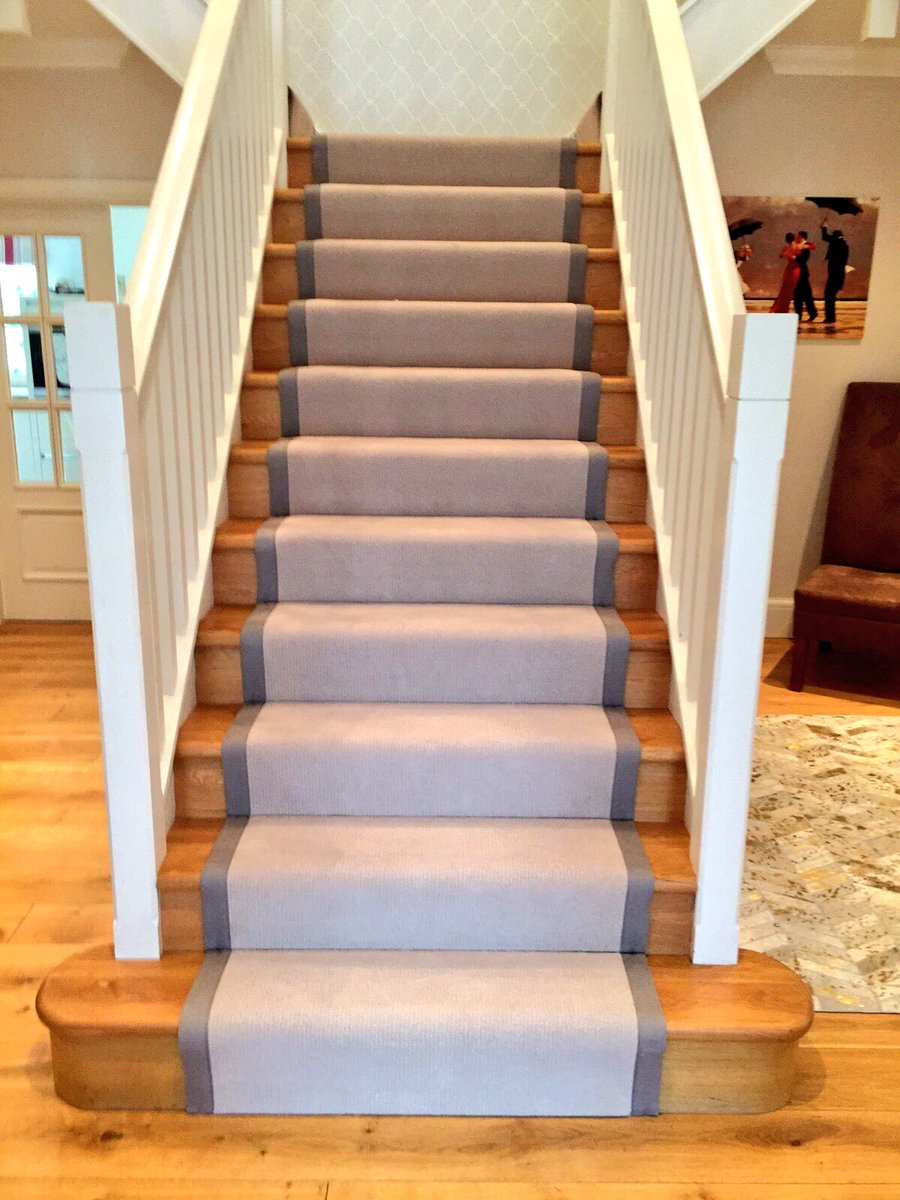 A Nice Way To Cover An Oak Stair