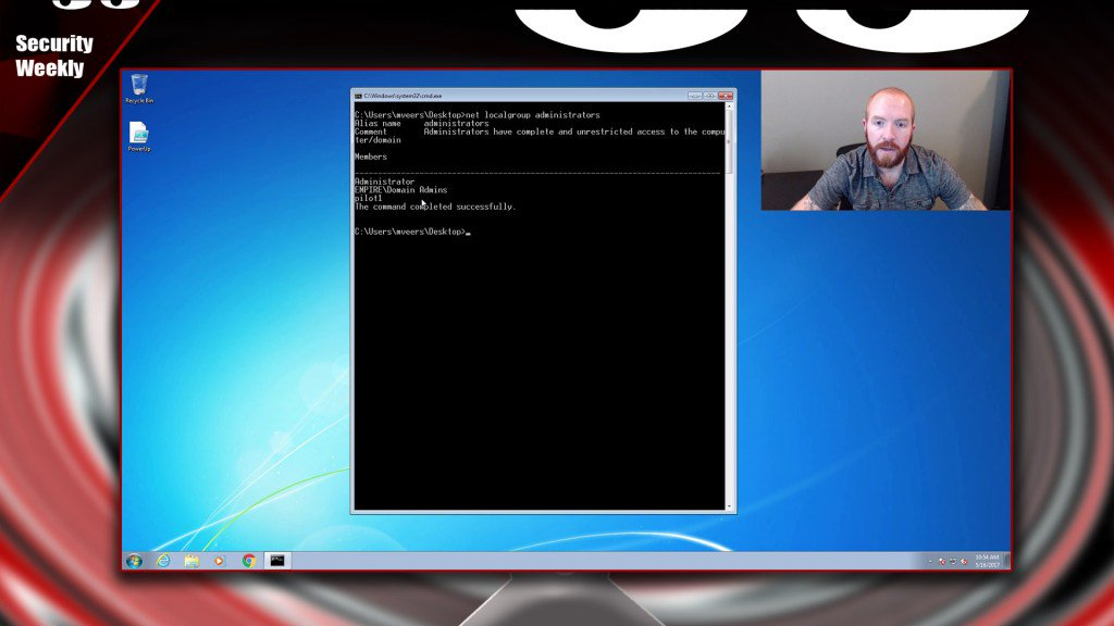 Windows Privilege Escalation Techniques (Local) – Tradecraft Security Weekly #2 https://t.co/NnRd4WVOpL https://t.co/pKpjCQ8ikf