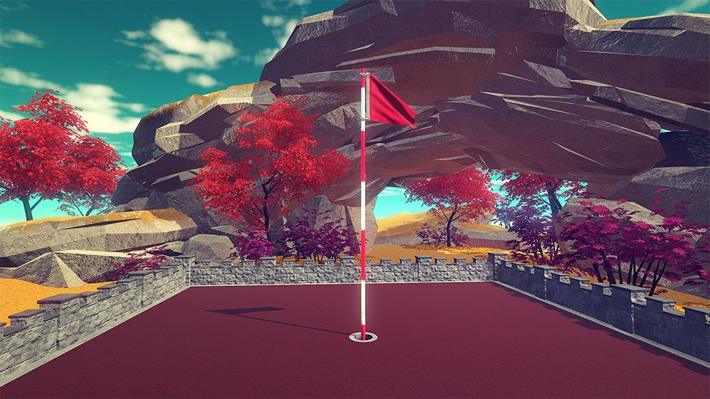 The Cloudlands: VR Minigolf update is now available on @Viveport - We chat with the co-founder of @futuretown_io vprt.co/VRminigolf