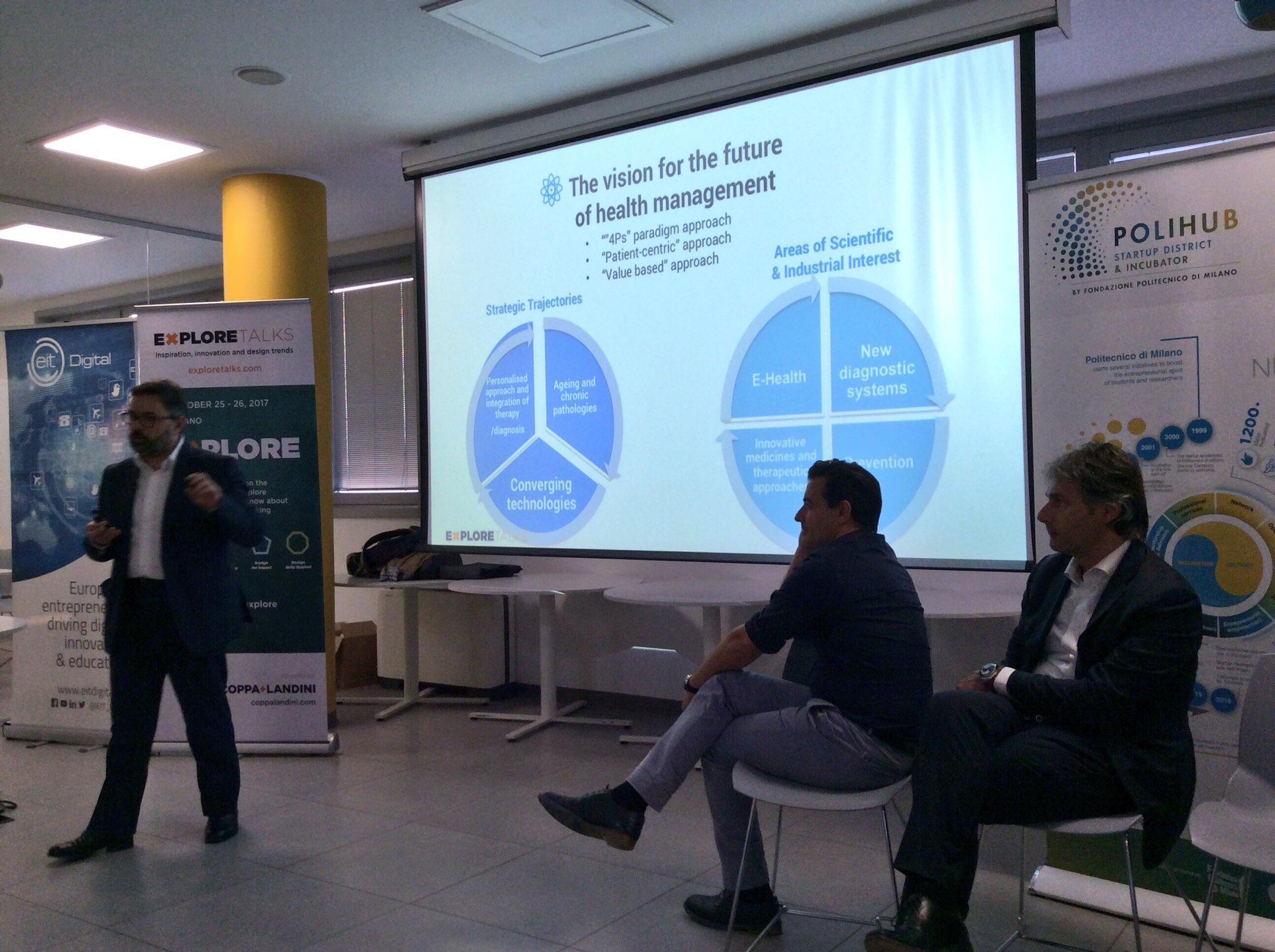 #xthealth: @Fconic di @BioindustryPark presenta il paradigma delle 4P #healthcare #healthmanagement https://t.co/lBcIUuFU5k