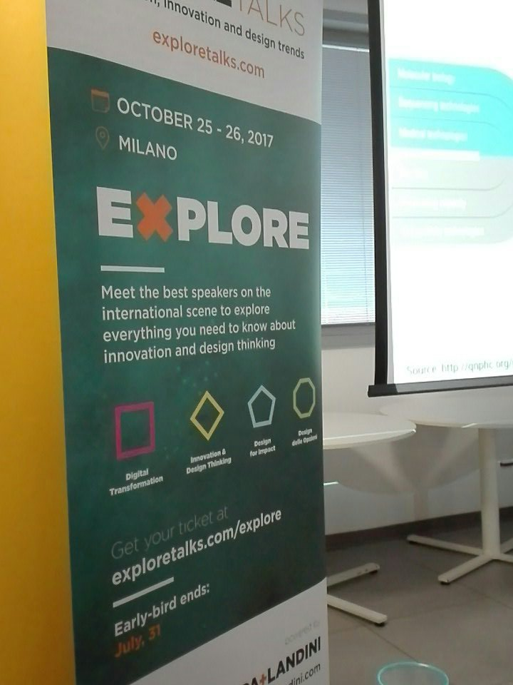 #XThealth oggi parliamo di #health ma ad ottobre ci scateniamo! Partecipate alle due giornate di #explore! 25-26ott 2017 https://t.co/FCUB0y3nrW
