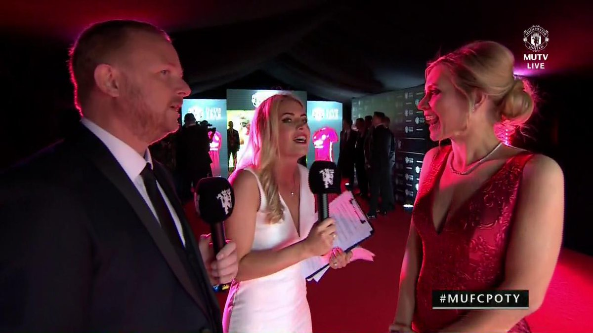 One of tonight's #MUFCPOTY hosts, @RachelRileyRR, reveals which player got her vote...