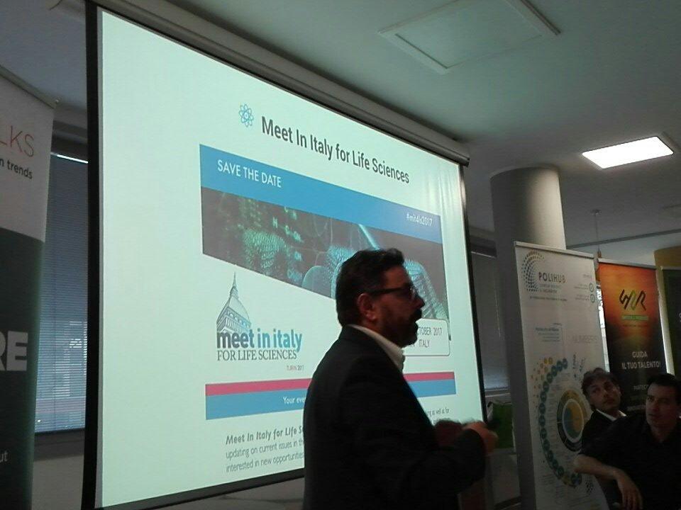 #XThealth parliamo ancora di #healt con @BioindustryPark a Meet in Italy for Life Sciences https://t.co/U9GMsoyjVM