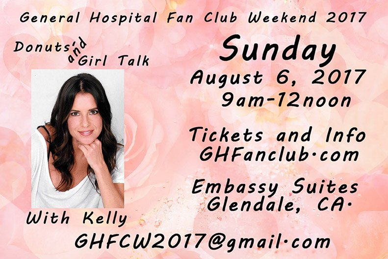 GHFCW2017-just 1 of the many events you do not want to miss @kellymonaco1 #gh #ghevents #ghfcw2017 https://t.co/7ytTrw105c