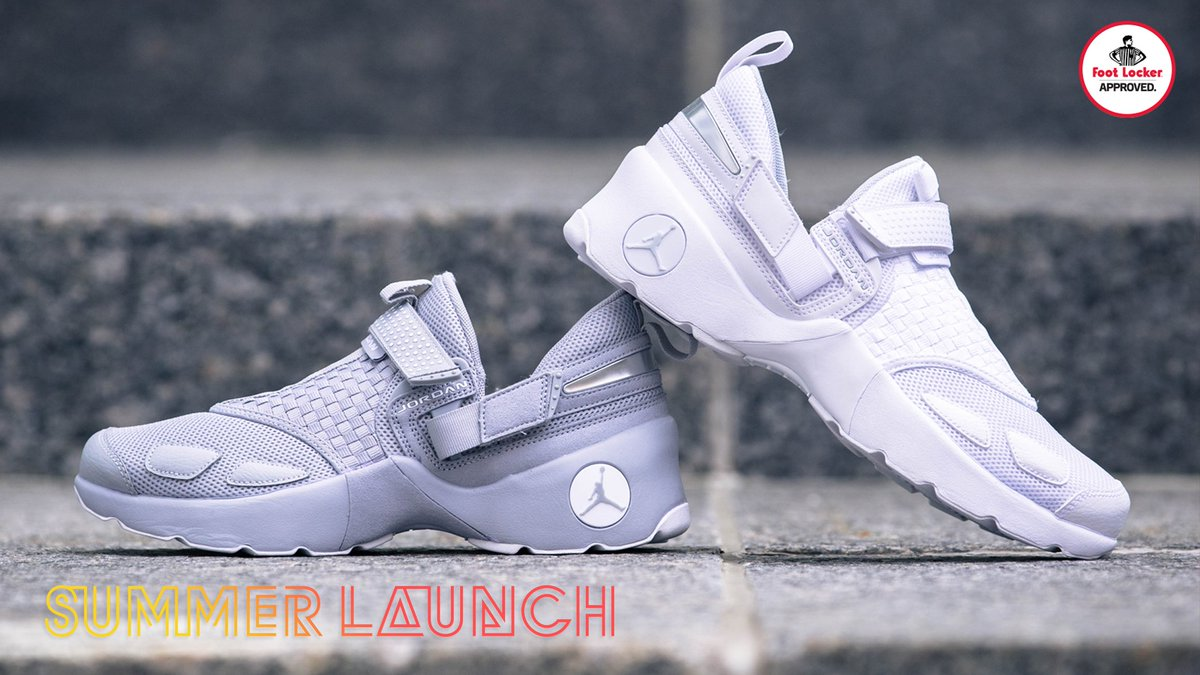 b7d830561a4 Jordan Trunner LX (BlackTeam Royal) - Sneaker Freaker Foot Locker Canada on  Twitter ...