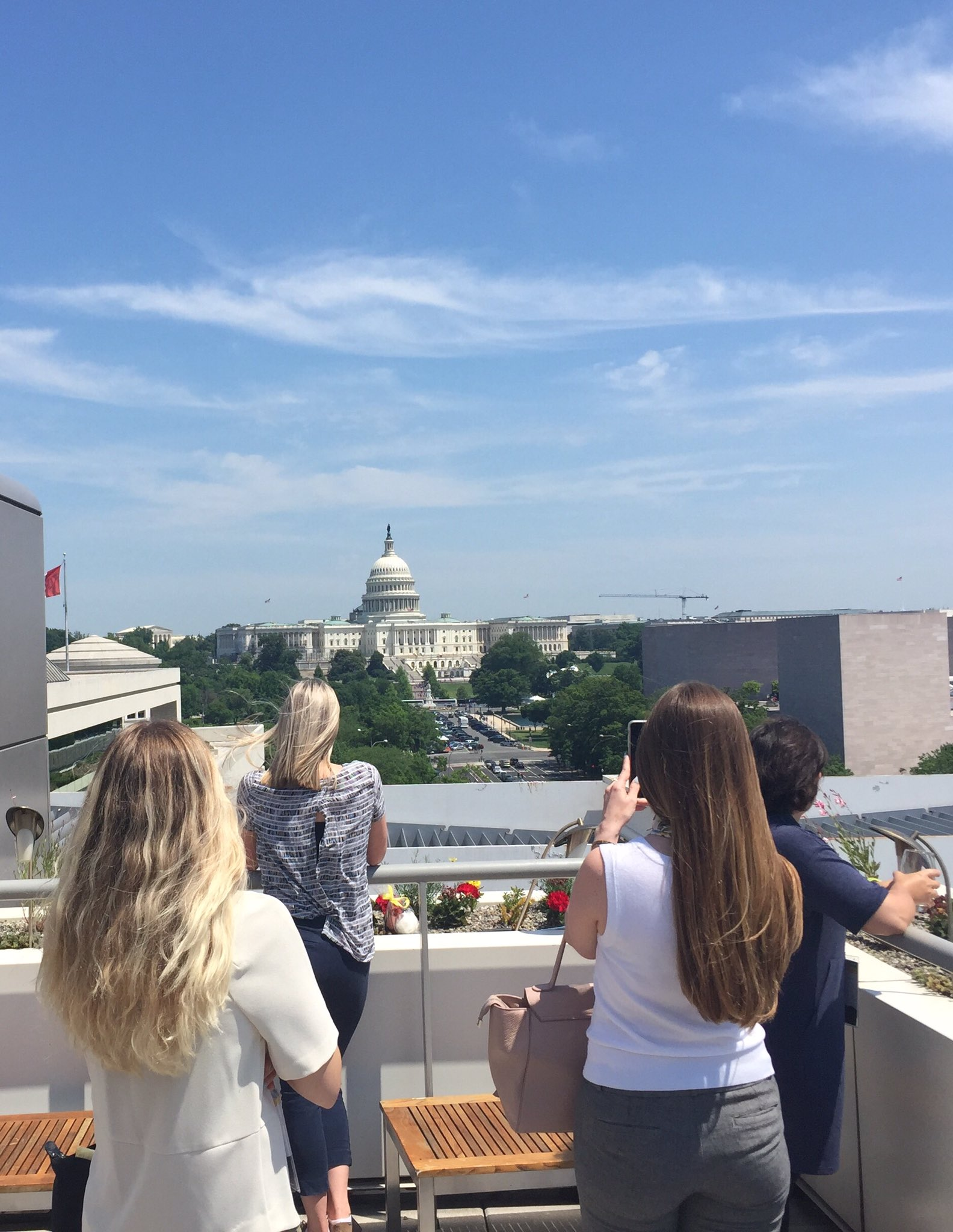 Loving the view from @Newseum at #TMSpark https://t.co/cuFjkwAH0h