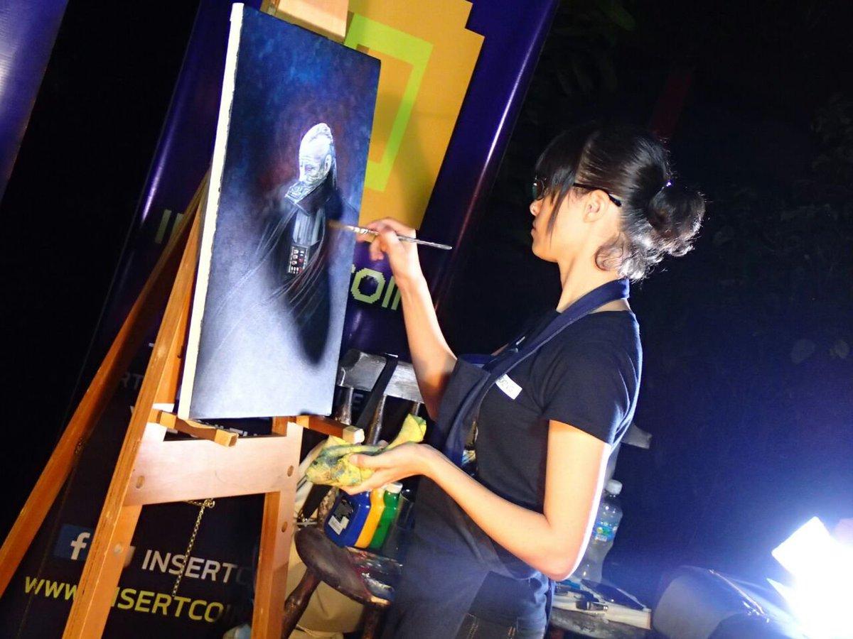 Angela Bermudez  - Painting Dar twitter @AngelaBermudezA art,speedpaint,quick,livepainting,starwars