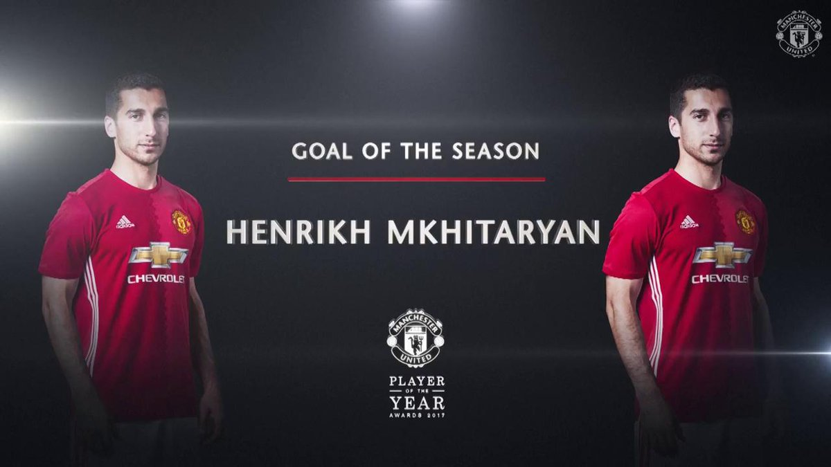 Our Goal of the Season - we still don't know how @HenrikhMkh did it! 😍 #MUFCPOTY
