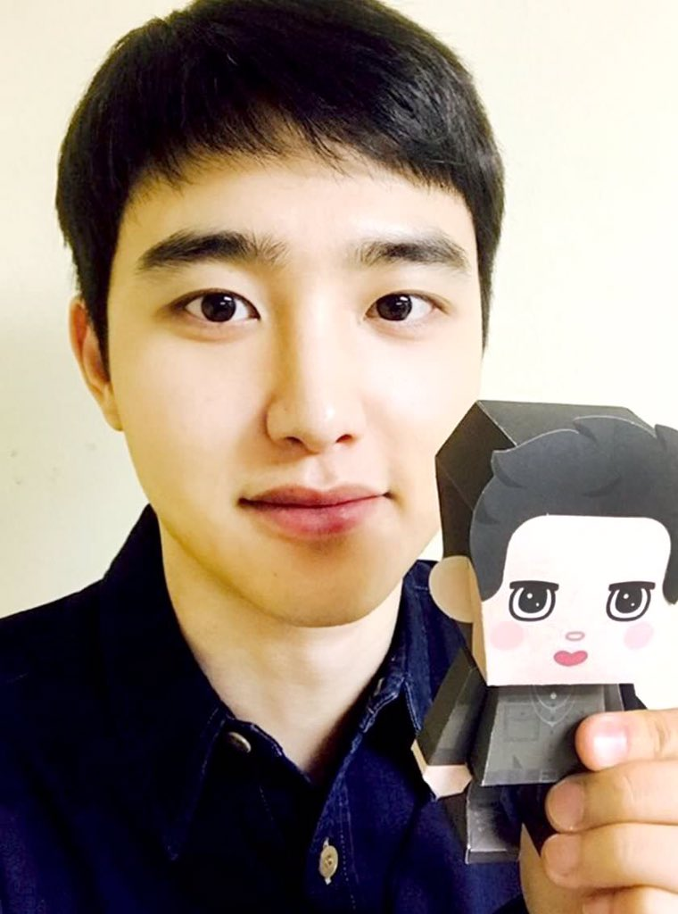 @mongryongsolo kyungsoo\'s nose has also fell victim