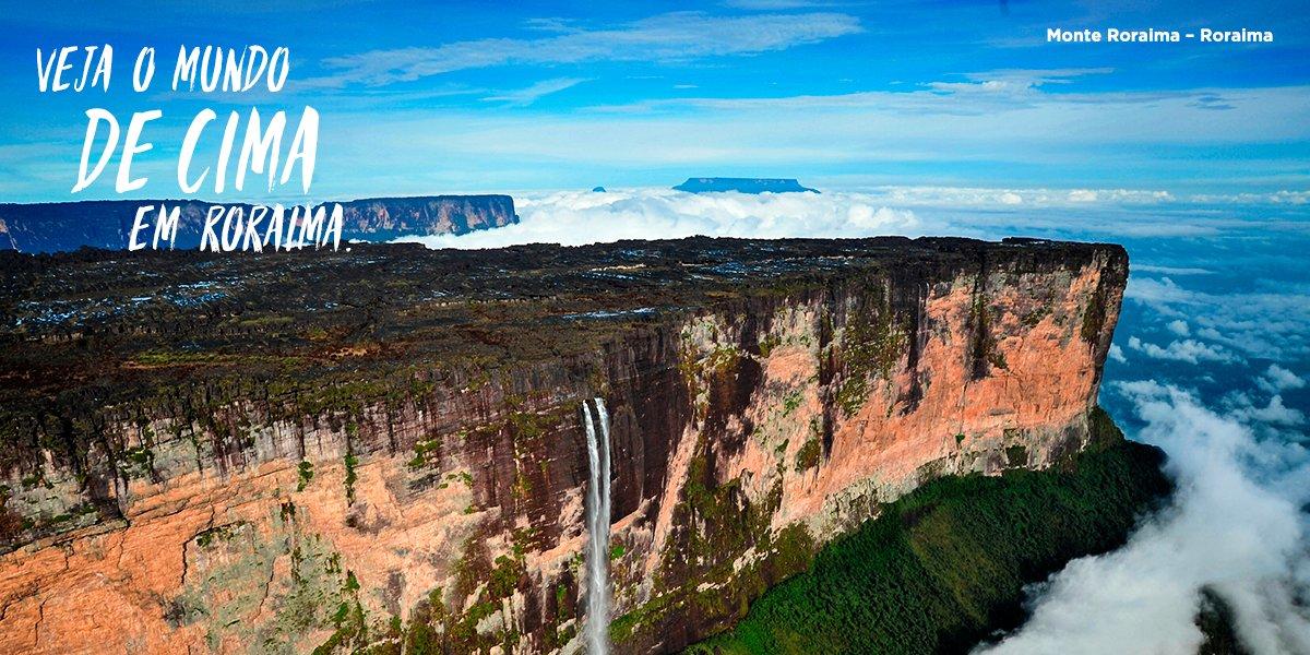 Pegue carona com os bons ventos da Amazônia Legal e descubra paisagens impressionantes. #OutraAmazônia