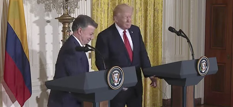 .@JuanManSantos: Our alliance is strengthened, as a result of today's meeting with @POTUS.