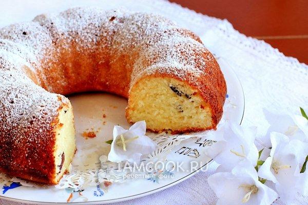 Творожный кекс сметане рецепт фото