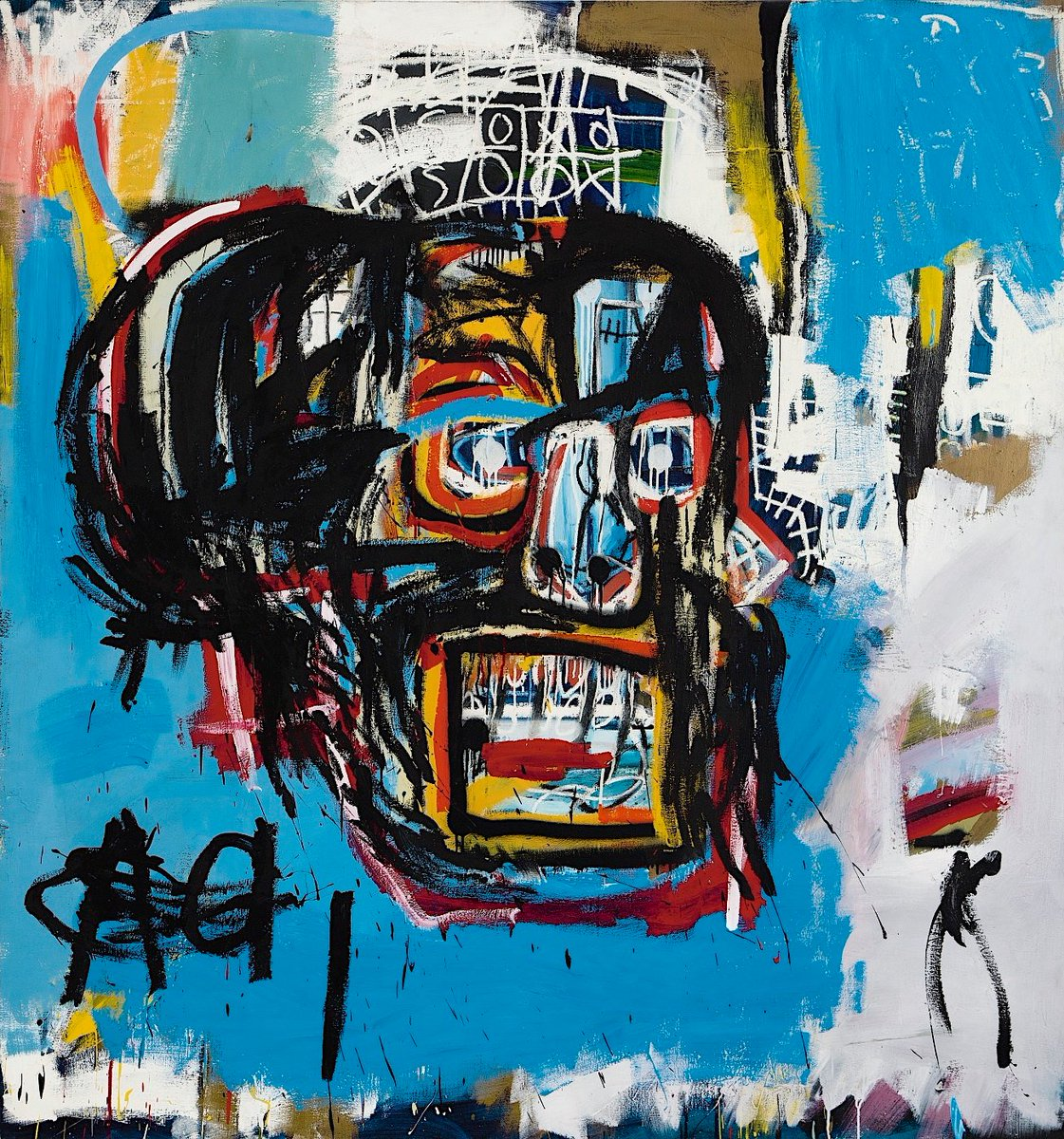 Jean-Michel Basquiat - Untitled - 1984. Just Sold for $110,487,500