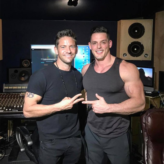 BIG NEWS @IMPACTWRESTLING fans!  First, my DEBUT SINGLE and MUSIC VIDEO with JEFF TIMMONS of 98 DEGREES will be released this summer!  #BB19