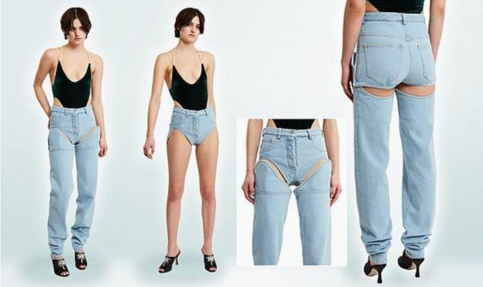 Image result for detachable jeans