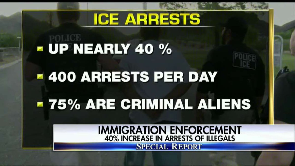 .@ICEgov arrests. #SpecialReport