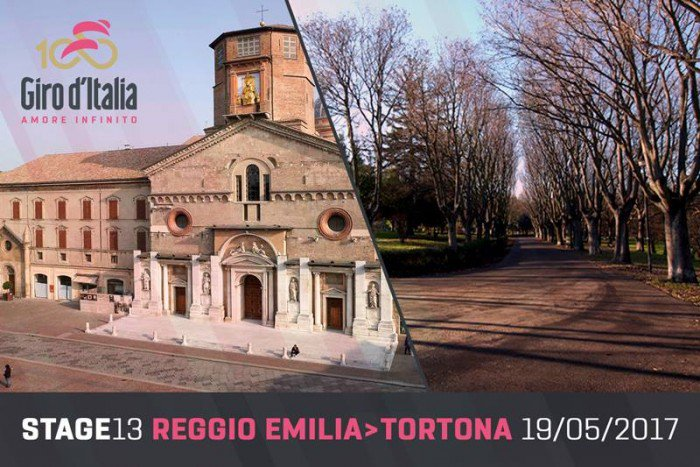 GIRO d'Italia Diretta TV: Reggio Emilia Tortona in Streaming LIVE Rai, Tappa 13 in Pianura Padana