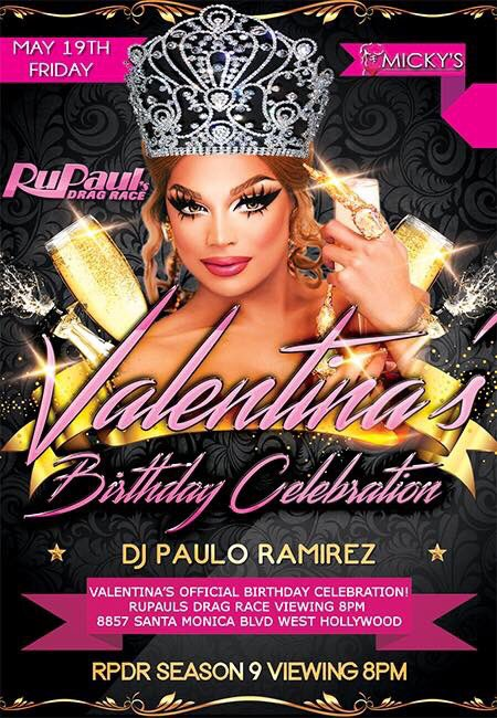 I can't wait to celebrate my birthday with all of you in @GayWeHo tomo...