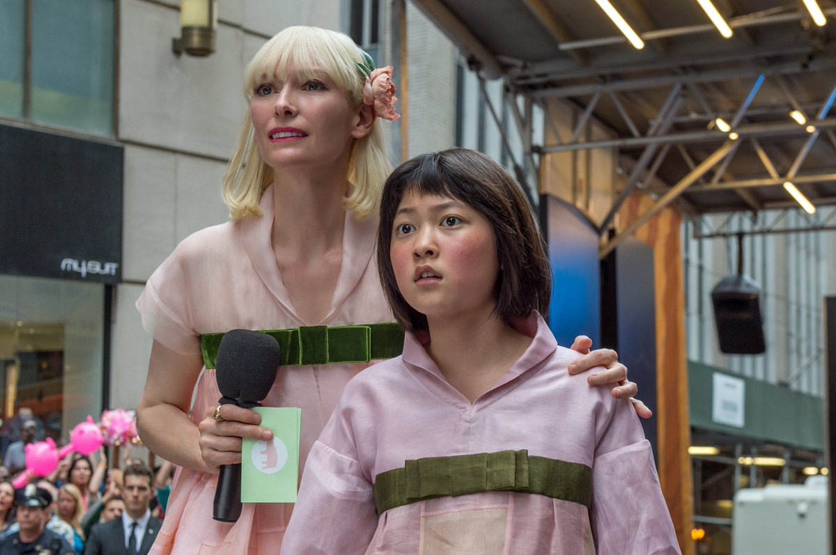 Tilda Swinton, Paul Dano and more feature in the new trailer for #Okja:  http://www. empireonline.com/people/jake-gy llenhaal/new-trailer-okja-arrives-online/ &nbsp; … <br>http://pic.twitter.com/epF9eACH3Z