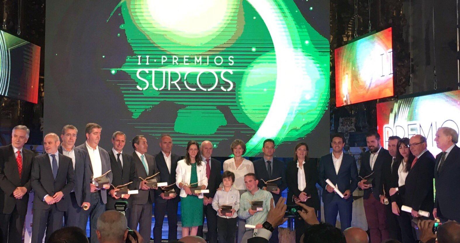 Felicidades a los ganadores #PremiosSurcos 👏👏y enhorabuena a @rtvcyl y @SurcosCyL por vuestro apoyo al sector primario!! https://t.co/dsB1nQFyx0