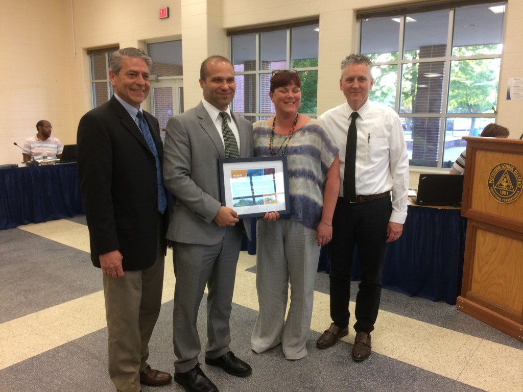 Pottstown Schools wins national music award for 2nd year in a row. https://t.co/XZ4BXi0Whb